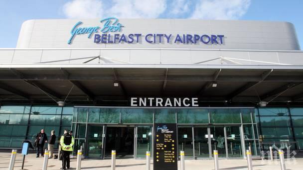 ИЗВЪНРЕДНО! Пътнически самолет кацна аварийно на летището в Белфаст