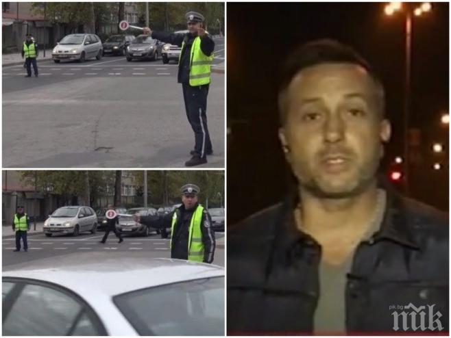 ЕКСКЛУЗИВНО! Проговори репортерът, заплашван брутално от катаджия насред Хасково (ВИДЕО)