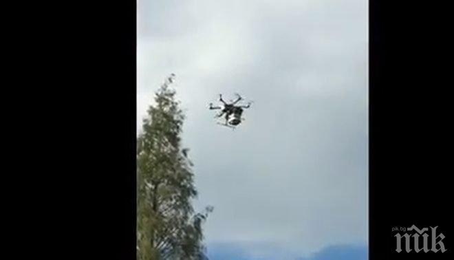 Инцидент! Шестима пострадали, след като дрон се вряза в тълпата по време на техническо изложение в Япония (ВИДЕО)