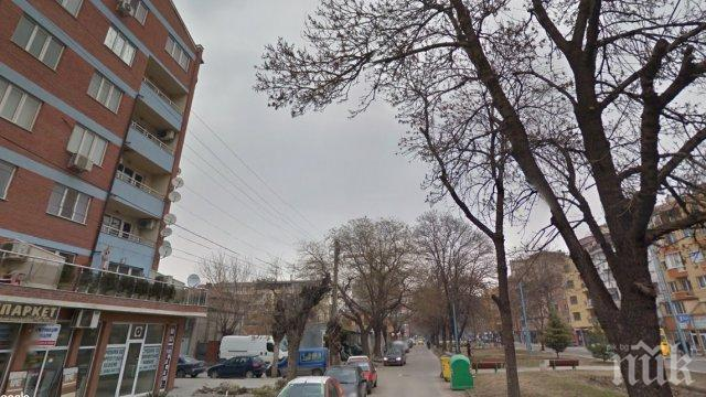 Побеснял мъж бомбардира с буркани автосервиз в Кючука