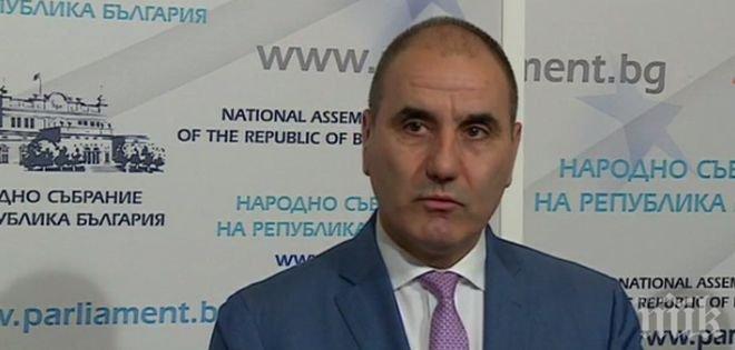 Цветанов нахока Жаблянов: Спазвайте правилника на Народното събрание
