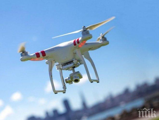 Апаши свиха дронове за 50 бона от шоурум в Пловдив
