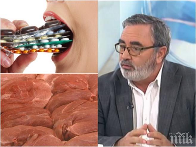 АЛАРМА! Д-р Ангел Кунчев със страшно предупреждение: Скоро нищо няма да може да лекуваме с антибиотици