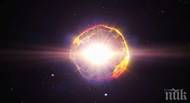 """Астрономи откриха звезда-""""зомби"""" в съзвездието Голямата мечка"""