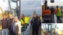 ИЗВЪНРЕДНО В ПИК! Борисов със спешна проверка на ремонта на Околовръстното в София! Премиерът постави важни задачи (СНИМКИ)
