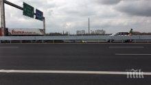 Слагат стационарна камера за скорост на Околовръстното при Казичене