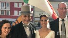 Бивш селекционер на България се ожени за туркиня