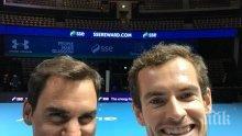 Федерер: Не очаквах Мъри да бъде на подобно добро ниво