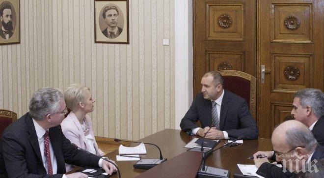 Румен Радев: Партньорството между България и Великобритания ще се развива и след Брекзит