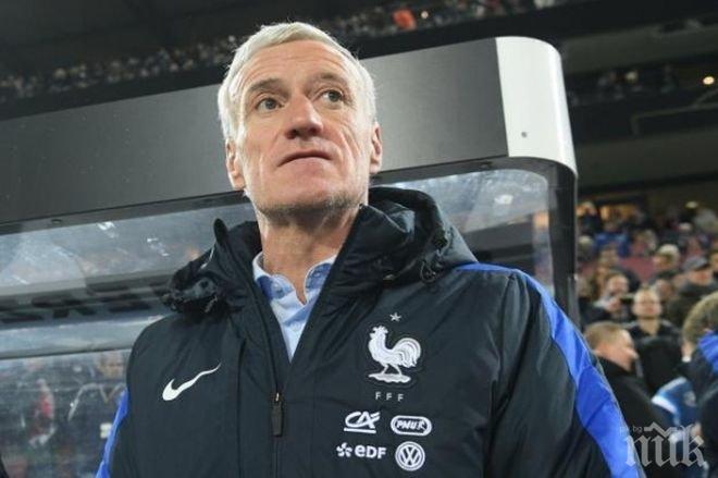 Дидие Дешан: Горд съм от представянето ни срещу силния отбор на Германия