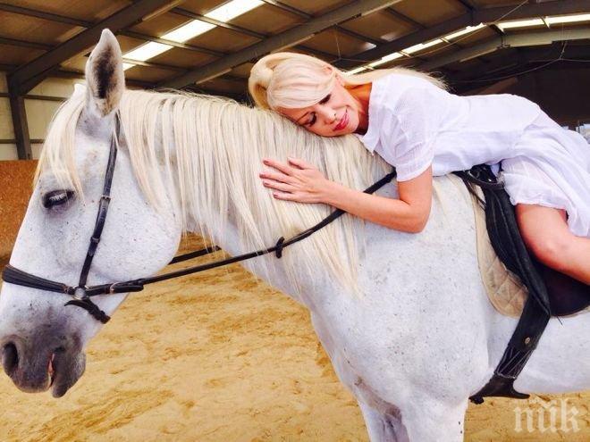 Спукаха Луна от бъзици, а гримьорът Кулагин я срина: За пръв път виждам кон върху кон! (СНИМКИ)