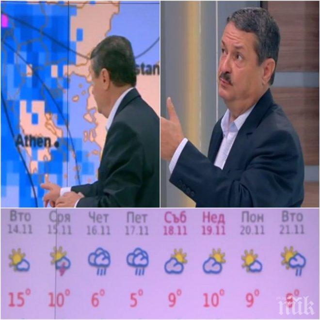 Климатолог предупреди за леден средиземноморски циклон! Снегът настъпва към България