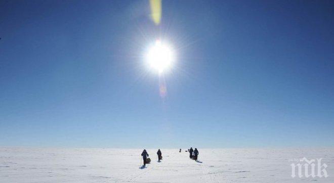 Първата група антарктици тръгва за остров Ливингстън