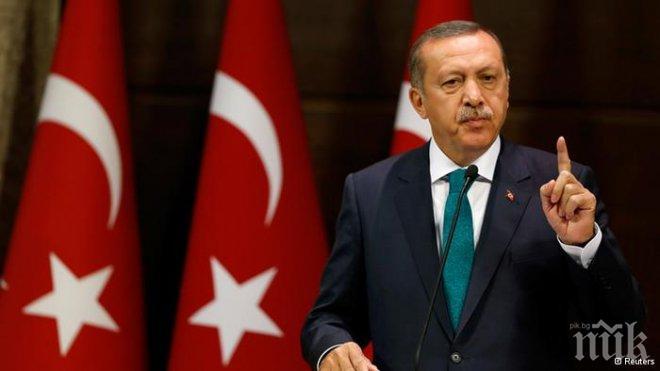 Турският президент е на посещение в Катар