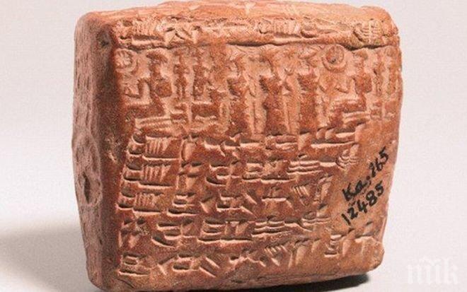 Находка! В Турция откриха един от най-древните брачни договори в света