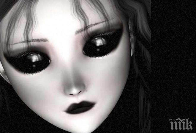 Децата с черни очи били извънземни