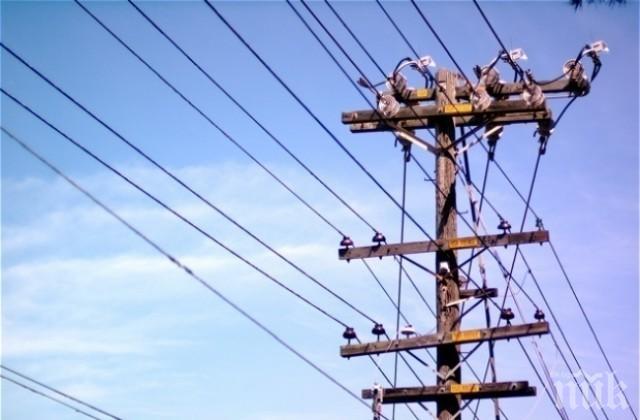 Авария остави половин Враца без ток