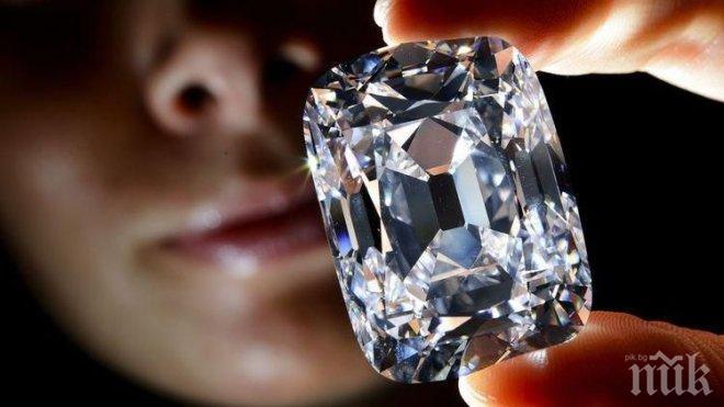 РЕКОРД! Най-големият диамант предлаган някога на аукцион, бе продаден за 34 млн. долара