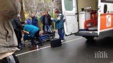 СМЪРТ НА ПЪТЯ! Мъж е загинал на място при тежка катастрофа в столицата, а жена е в тежко състояние