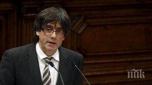 Пучдемон няма да се връща в Каталуния, ще води предизборна кампания от Брюксел