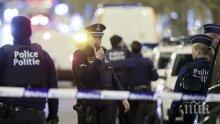 Безредици! Най-малко 30 арестувани заради сблъсъци в центъра на Брюксел