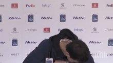 Луд смях на пресконференцията на Гришо! Тенис звездата накара журналист да потъне от срам (ВИДЕО)