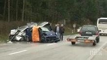 ФАТАЛНИЯТ ПЪТ! Нова катастрофа в Ловешко! Има жертва, 7 души са ранени!
