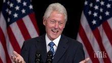Подпукаха и Бил Клинтън за сексуален тормоз