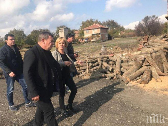 Мая Манолова да не си прави пиар на наш гръб