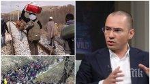 ТРЕВОГА! Ангел Джамбазки със страховито предупреждение: Милиони мигранти от Африка тръгват към България