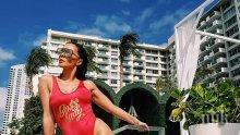 Галена се конкурира с Памела Андерсън на Бахамите! Звездата се къпе в невиждан лукс (СУПЕР СНИМКИ)