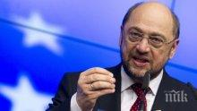 Мартин Шулц обяви, че членовете на ГСДП ще решат дали партията ще участва в новия кабинет в Германия