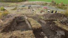 """НАХОДКА! Откриха кости на изчезнало древно животно при разкопките на """"Русокастро"""""""