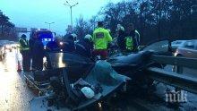 САМО В ПИК TV! Шофьорът от тежката катастрофа на Телевизионната кула бил пиян и дрогиран, остава в тежко състояние (СТРАХОВИТО ВИДЕО)