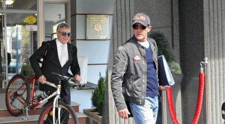 Министър Владо Пенев на обяд с Бандерас