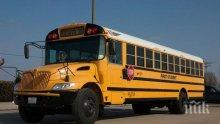 Ад на пътя! Три ученически автобуса катастрофираха в САЩ, десетки деца са ранени
