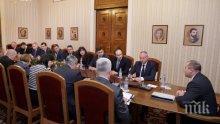 Президентът събра евродепутатите заради нашето европредседателство