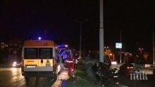 Тежка катастрофа в Русе! Двама са загинали на място, колата смазана