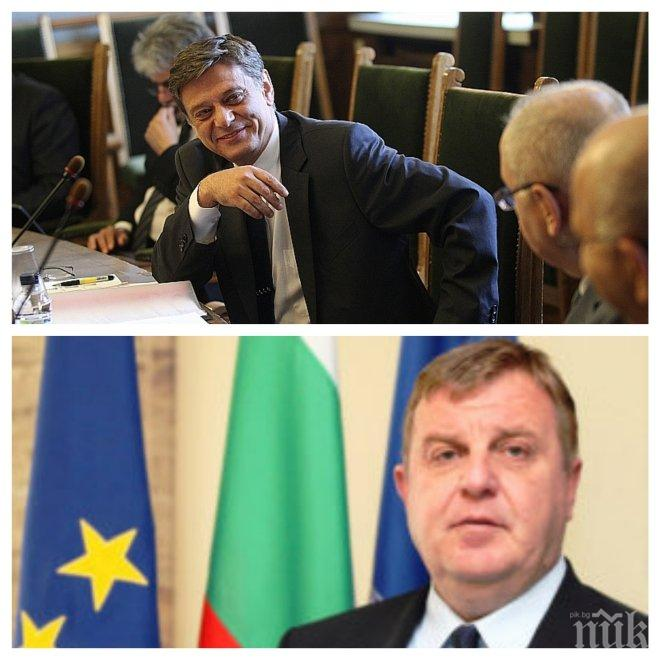 ИЗВЪНРЕДНО В ПИК TV! Военният министър Каракачанов на разпит в комисията по отбрана (ОБНОВЕНА)