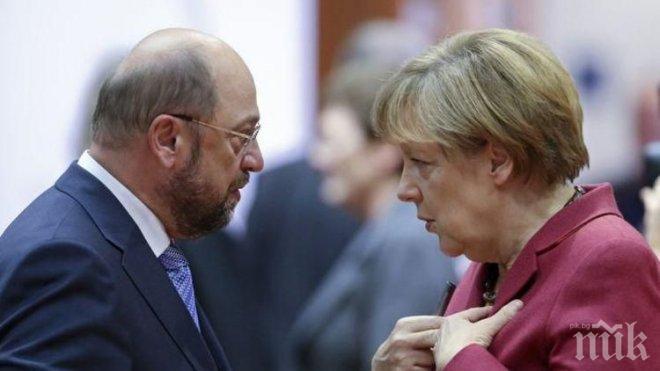 Германските социалдемократи се съгласиха да започнат коалиционни преговори