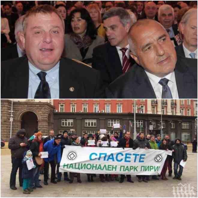 САМО В ПИК! Вицепремиерът Красимир Каракачанов пред медията ни за екшъна в правителството: Зеленият рекет е повсеместен!