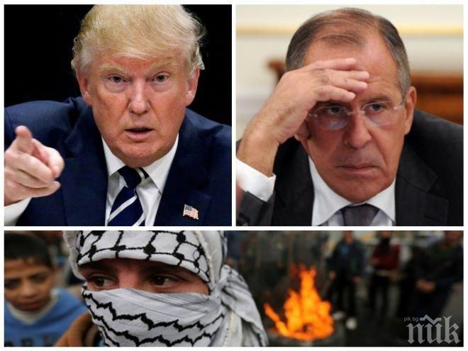 СВЕТЪТ ПРЕД НОВА ВОЙНА! Русия скочи на САЩ. Лавров изригна: Тръмп изгуби здравия си разум