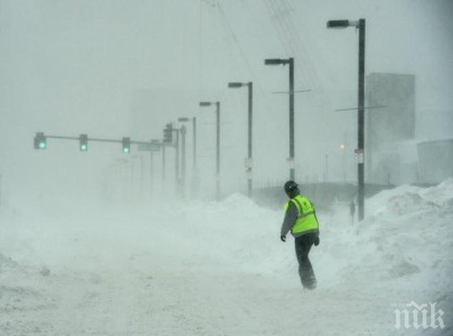 Обилните снеговалежи отнеха живота на най-малко един човек във Великобритания