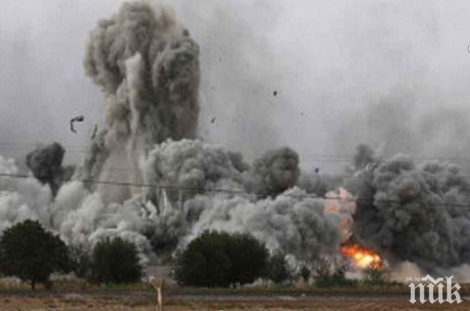 Израел е отговорил на обстрел от Ивицата Газа