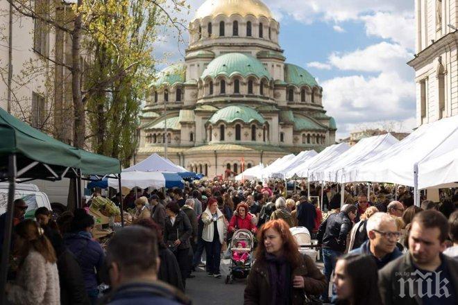 ПРАЗНИЧНО! Фандъкова прави коледния фермерски пазар в София на 17 декември