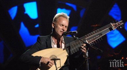 Стинг ще пее в Античния театър на Пловдив