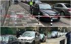 """САМО В ПИК! Блокада в София след кървавата стрелба - полицията издирва двама заподозрени в тъмно """"Рено"""" (ОБНОВЕНА)"""