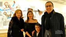 Президентът Петър Стоянов заведе Антонина на гайда-фюжън