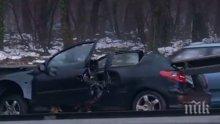 """ПОРЕДНА ЖЕРТВА! 38-годишен мъж загина при катастрофа на автомагистрала """"Тракия"""""""