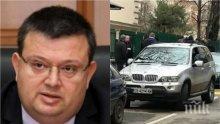ПЪРВО В ПИК! Сотир Цацаров с последни подробности за стрелбата в София! Раненият шеф в НАП е бивш полицай, килърите го улучили два пъти